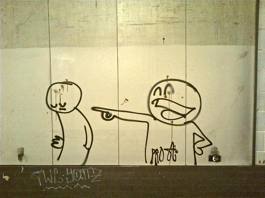 Graffito, Schoenleinstr. U-Bahn