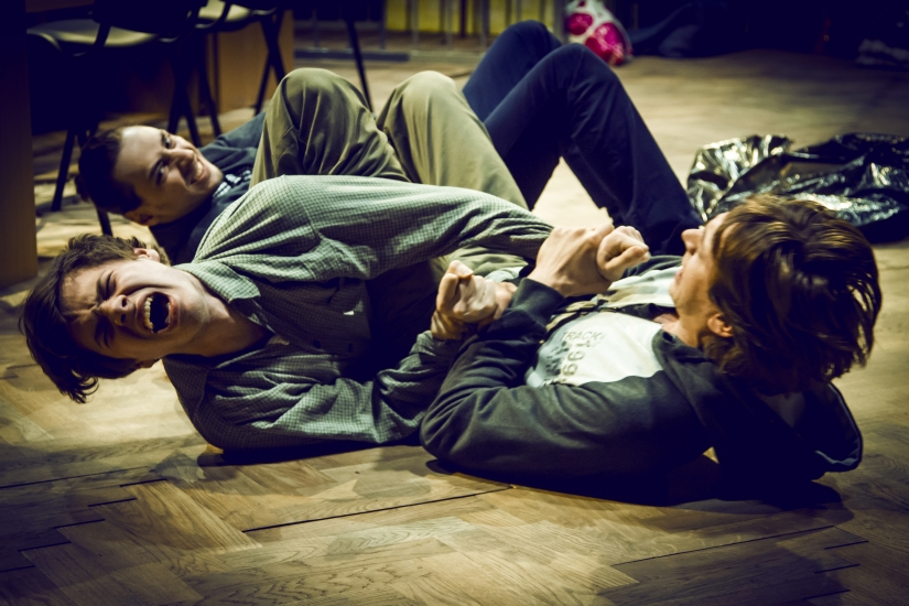 Photo by Alex Yoku (2014) Used with Permission from the FIND Festival, Schaubühne, Berlin