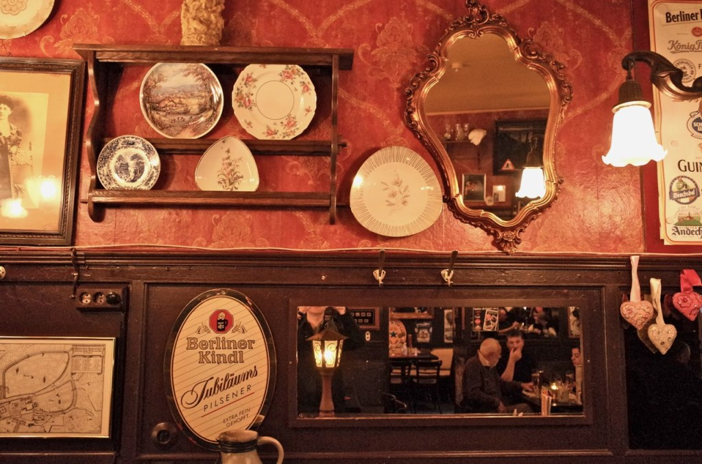 From the interior of the Dicke Wirten (an old Berlin tavern)