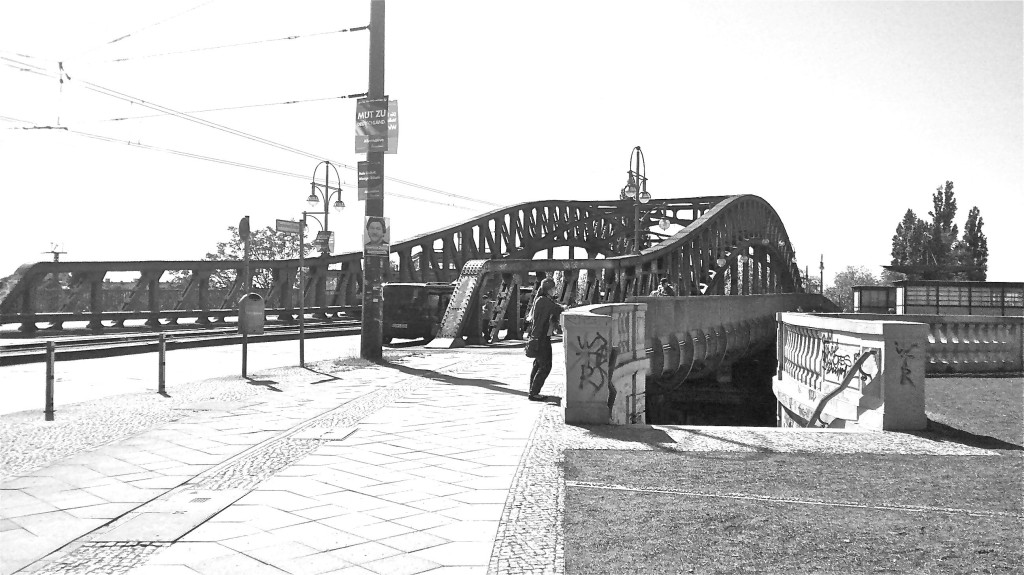 Bridge (former border) at Bornholmer Straße. Photo: JS Pearson