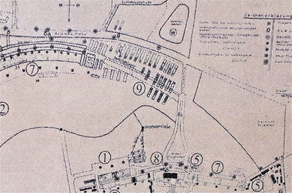 Detail of Site Plan (1941-1943)