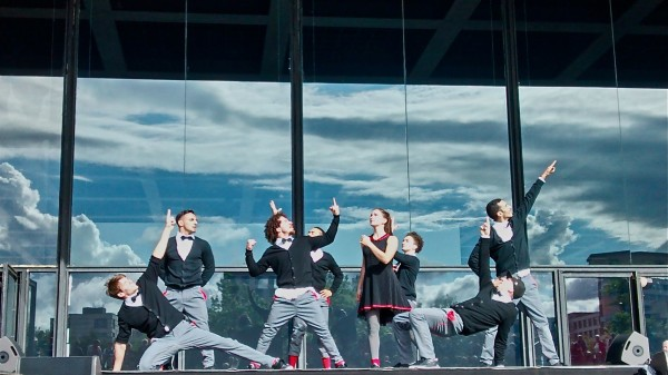 Flying Bach: At the Neue Nationalgalerie June 2014