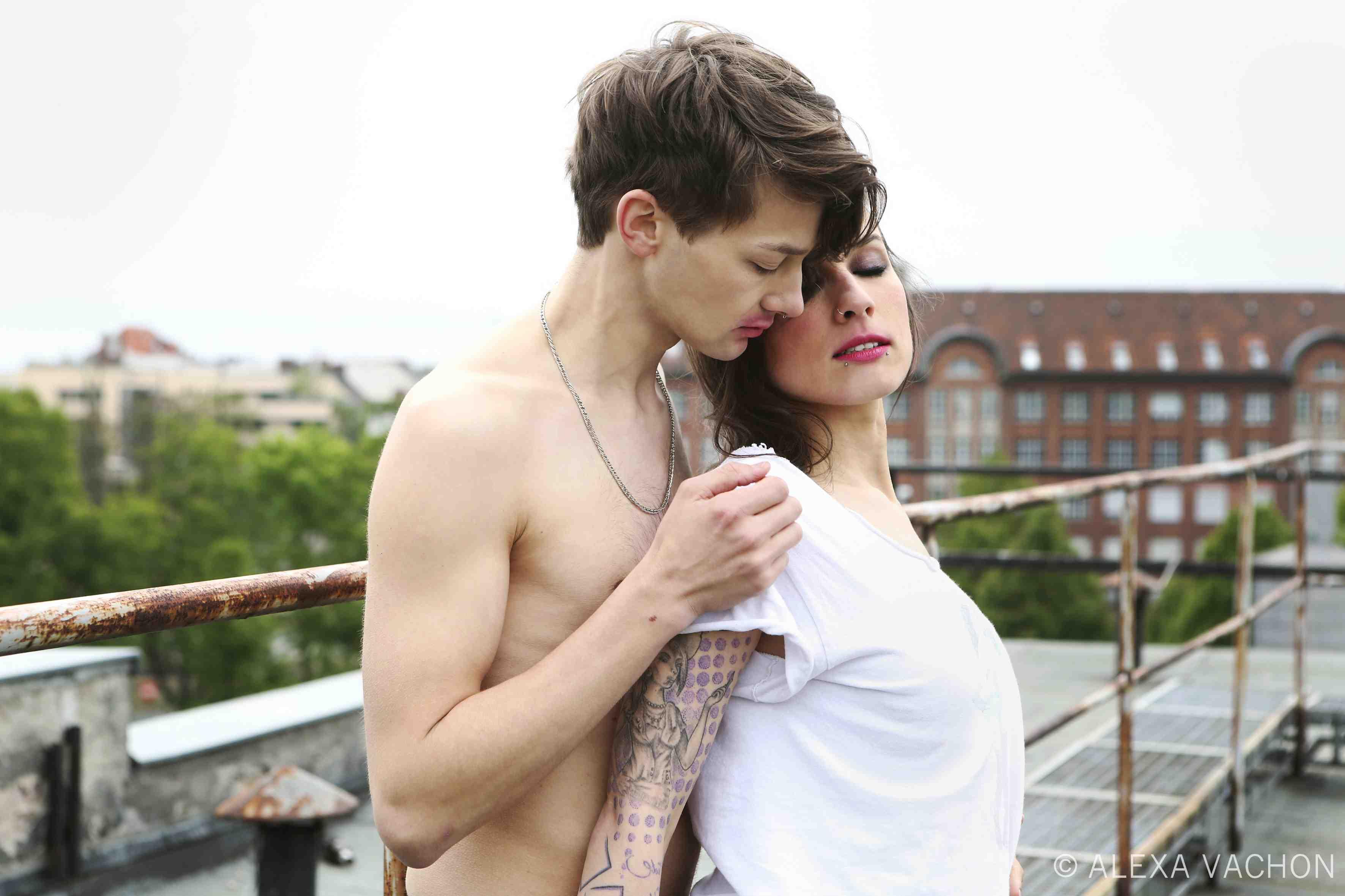 Sasha (Tim Fabian Hoffmann) and Magda (Sookee). Used with permission.