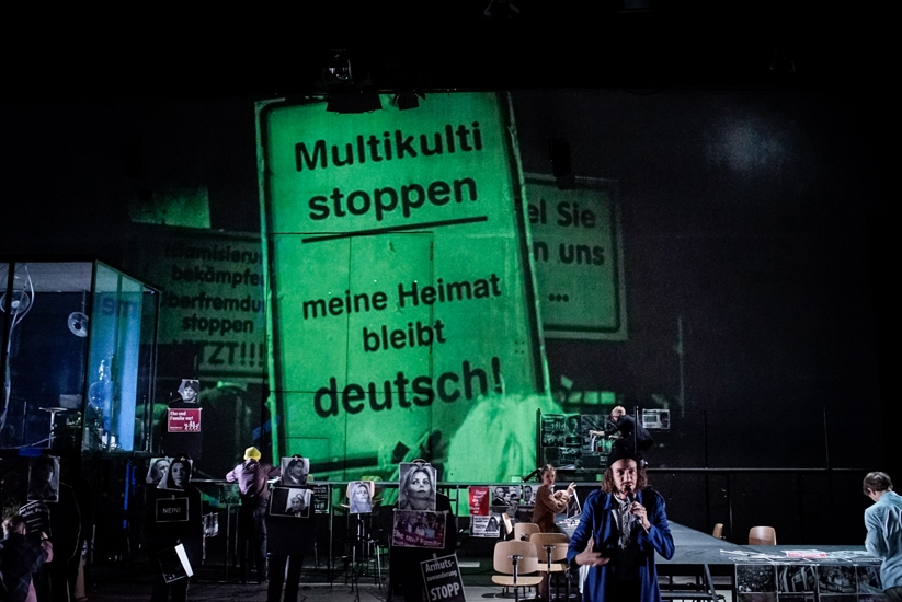 Photo by Arno Declair used with permission of the Schaubühne