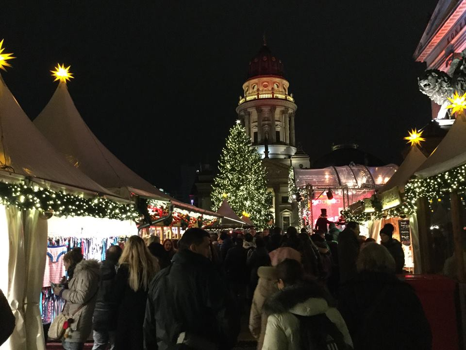 Last night at the Christmas Market (Gendarmenmarkt). (Photo JS Helgeson)